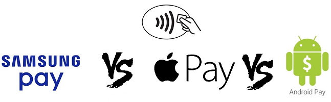 Samsung Pay vs Apple Pay vs Android Pay